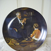 Knowles Norman Rockwell Heritage Collection, Plate 6: The Tycoon