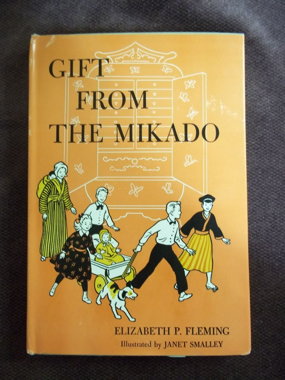 Gift From the Mikado, Elizabeth P. Fleming, Westminster Press 1958: Weekly Reader Children's Book Club