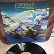 John Denver Rocky Mountain Christmas RCA Vinyl LP 1975