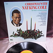 Christmas With Nat King Cole and Fred Waring & the Pennsylvanians, Capitol Records LP Vintage 