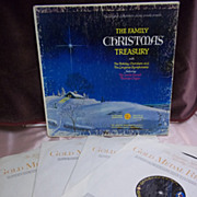 The Family Christmas Treasury, Set of 4 Longines Symphonette Society Vintage Vinyl LP
