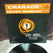 Music From the Motion Picture: Charade, RCA Victor LP Vintage Vinyl