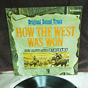 How The West Was Won Original Sound Track, MGM High Fidelity LP Vintage Vinyl Record