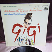 Original Cast Soundtrack: GiGi, MGM Records LP Vintage Vinyl Record 1958