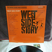 Original Sound Track Recording: West Side Story, Columbia LP Vintage Vinyl Record