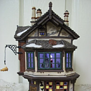 Department 56, A Christmas Carol Ebeneezer Scrooge's House MIB
