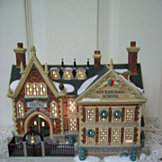 SOLD Department 56, Dickens' Village Rockingham School -- Mint In Box