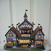 Department 56, Dickens' Village Burwickglen Golf Clubhouse Mint in Box