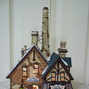 Department 56, Dickens' Village  Glendun Cocoa Works, MIB