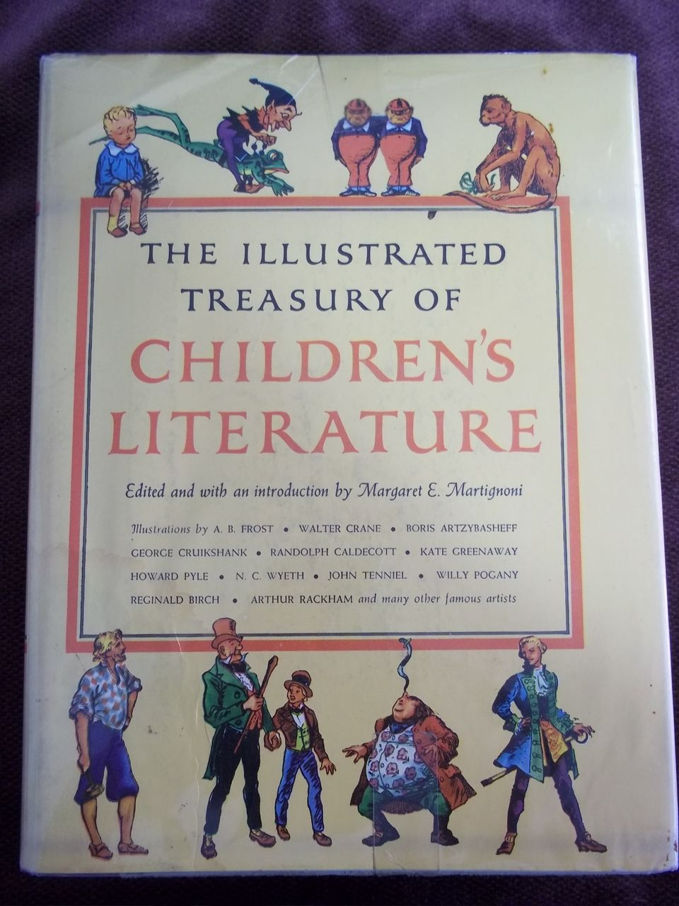 The Illustrated Treasury of Children's Literature, 1st Edition, Grosset and Dunlap 1955