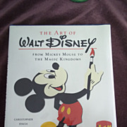 The Art of Walt Disney: From Mickey Mouse to the Magic Kingdoms, Christopher Finch, Harry N. A