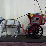 SOLD Department 56, Sherlock Holmes Hansom Cab MIB