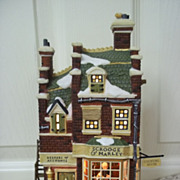 Department 56, A Christmas Carol Scrooge and Marly Counting House