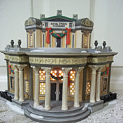 Department 56, Dickens' Village Royal Stock Exchange Mint in Box