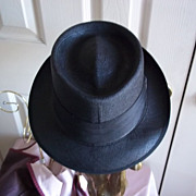 "SOLD Stetson ""Black Lancer"" Straw Fedora"