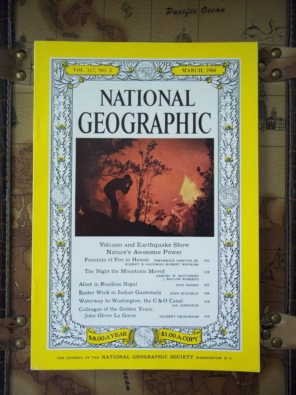 National Geographic Vol. 117, No. 3, March 1960