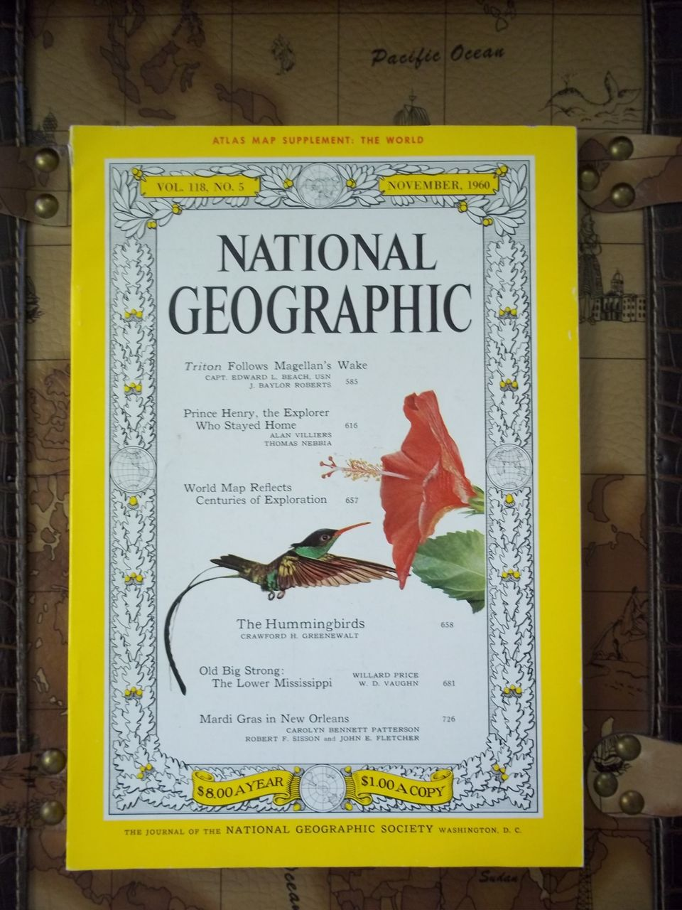 National Geographic Vol. 118, No. 5, November 1960