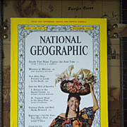 SOLD National Geographic Vol. 120, No. 4, October 1961