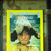 Vintage National Geographic Vol. 151, No. 4, April 1977