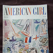 American Girl Magazine July 1957