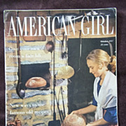 American Girl Magazine October 1957