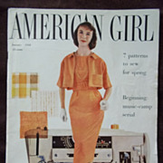 American Girl Magazine January 1958
