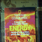 Vintage National Geographic Special Report: Energy, Facing Up to the Problem February 1981