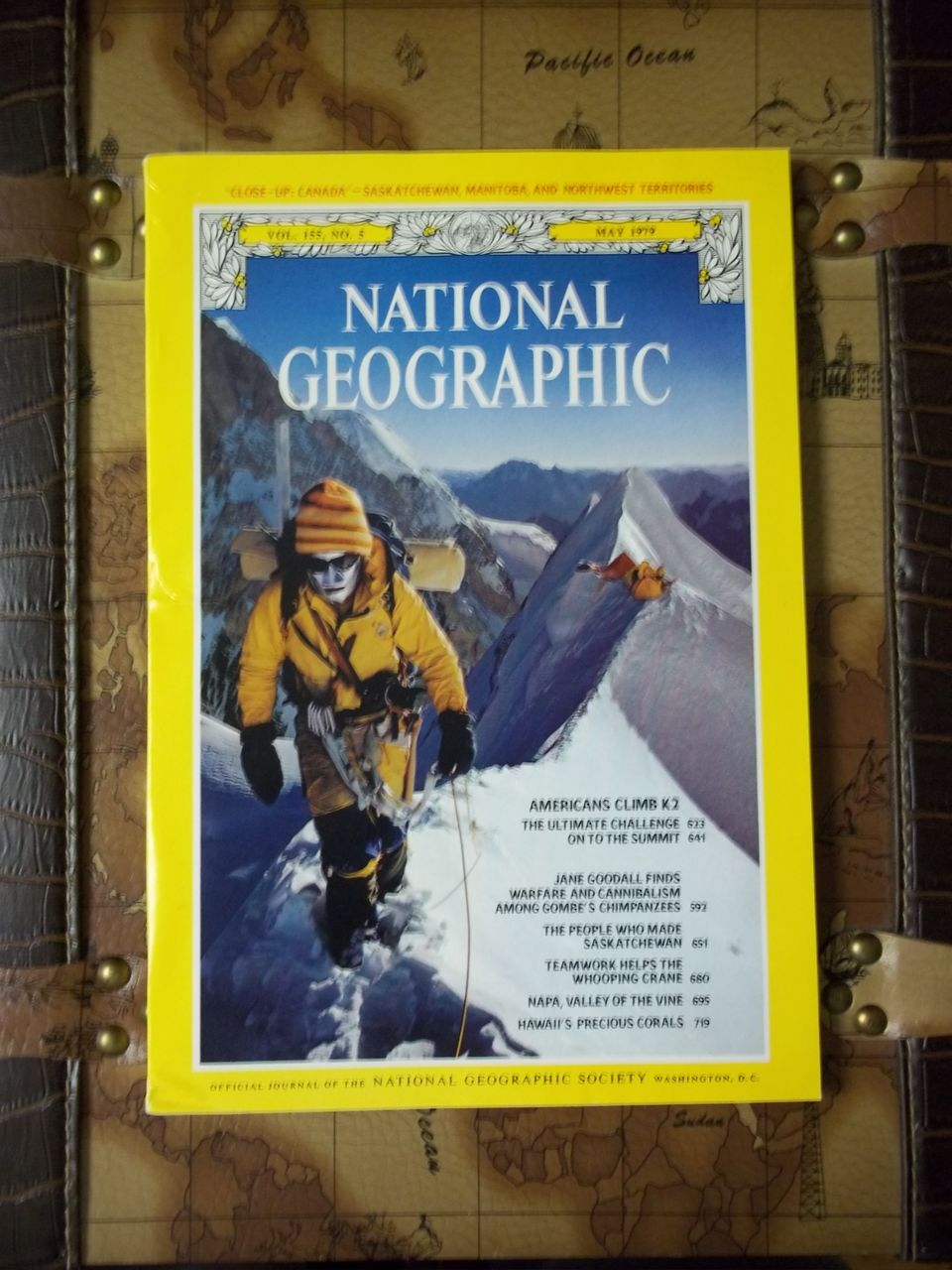 Vintage National Geographic, Vol. 155, No. 5 May 1979