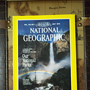Vintage National Geographic Vol. 156, No. 1, July 1979