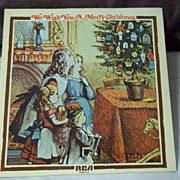 RCA We Wish You a Merry Christmas Vinyl Record 1970
