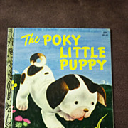 Little Golden Books: The Poky Little Puppy Vintage Hardcover