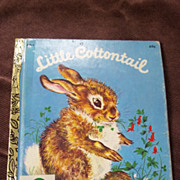 Little Golden Books: Little Cottontail Vintage Hardcover