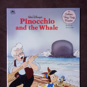 Little Golden Books: Walt Disney's Pinocchio and Whale Very Easy Reader