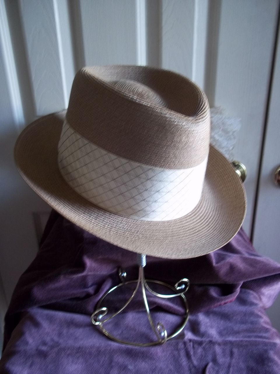 Dorsey Jay Imported Milanese Straw Fedora / Panama Hat