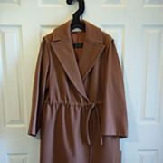 Vintage John Anthony Pret Ladies' Wool Coat