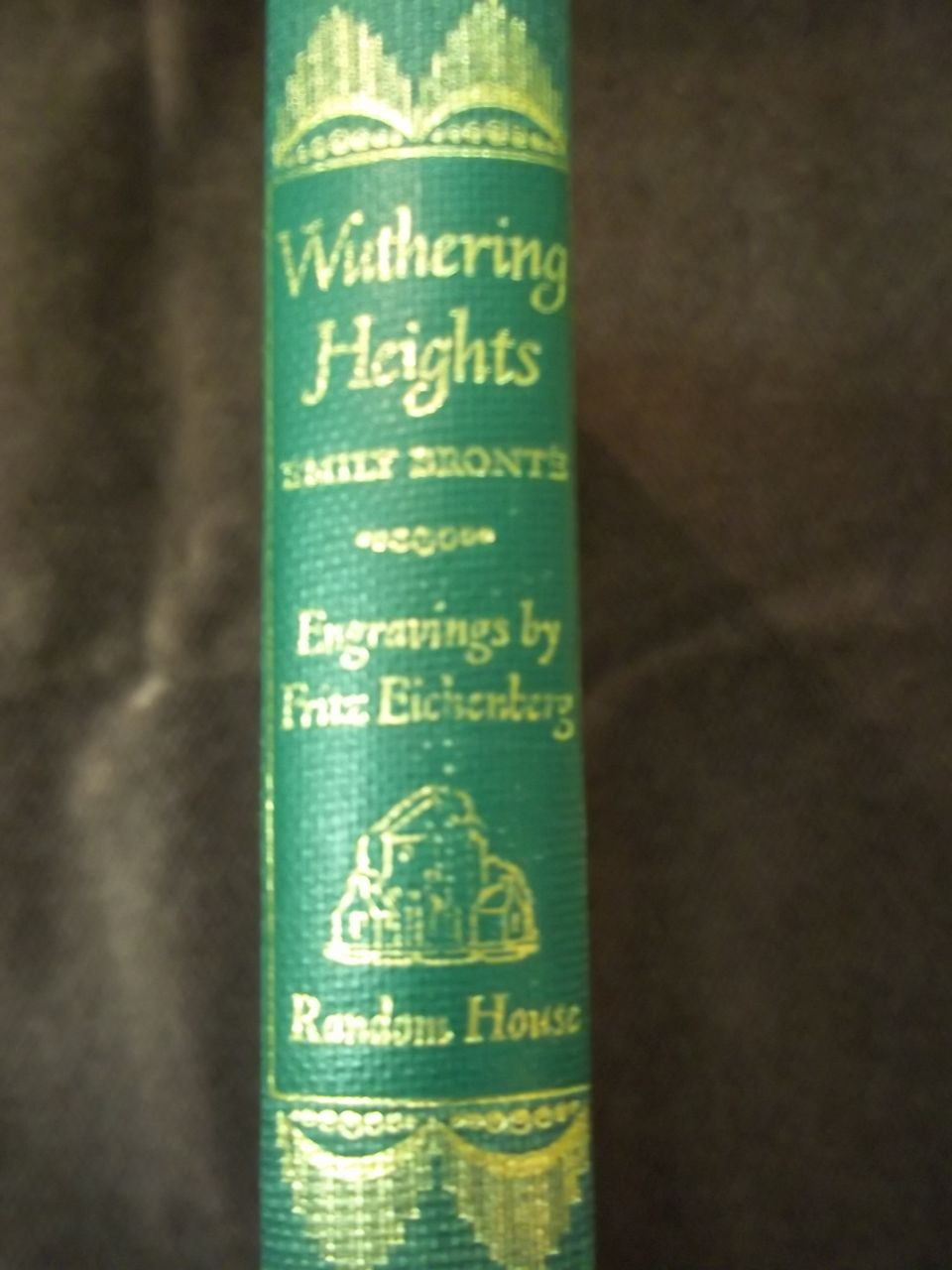Wuthering Heights by Emily Bronte, Illustrated Random House ed., 1943