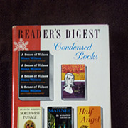 Readers Digest Condensed Books, Vol. 1, 1961 Winter Selection
