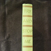 Try and Stop Me by Bennet Cerf, Simon and Schuster 1945
