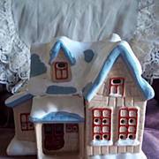 Vintage Ceramic Christmas House