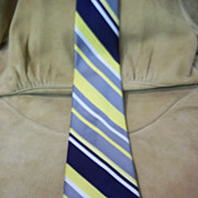 Italian Imperial Guard Diagonal Striped Tie