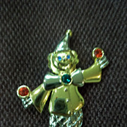 Clown Gold Tone Pin