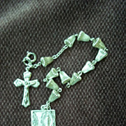 Cross and Saints Charm Bracelet