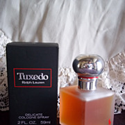 1979 Tuxedo by Ralph Lauren Cologne, New in Box