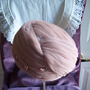 Vintage Delmore Tulle Ladies' Turban Hat
