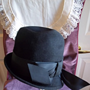 SOLD Ladies Vintage Wool Felt Hat by Glenover