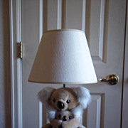 Kids Koala and Baby Lamp