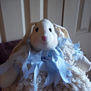 Vintage Bunny Rabbit Stuffed Animal