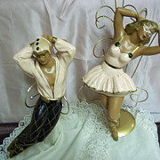 Art Deco Style Ballet Dancer Wall Decorations