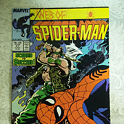 Marvel Comics Web of Spider-Man Vol. 1, No. 27, June 1987