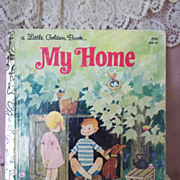 Little Golden Books: My Home, 1981